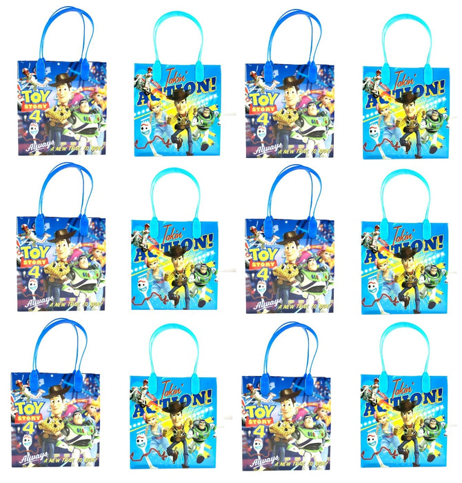 Pixar Toy Story 4 12x Goodie bags Goody Bags Gift Bags Party Favor Bags