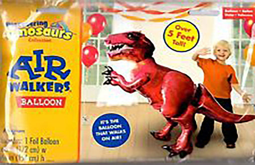 Tyrannosaurus Rex Airwalker Balloon DINOSAUR Birthday Decoration Party Supplies