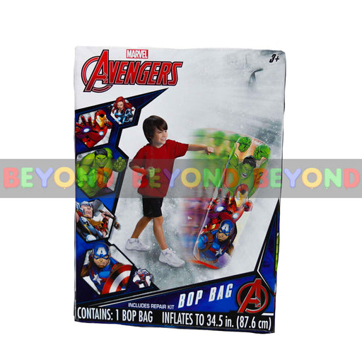 Avengers Marvel Comics Avengers Initiative Punching Bop Bag Novelty Character