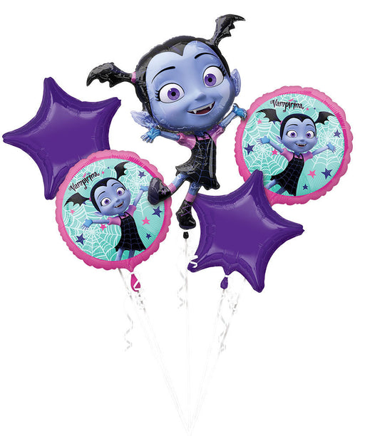 Disney Vampirina Balloon Bouquet - 5 pcs Set