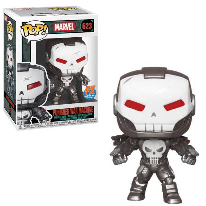 FUNKO POP! MARVEL - PUNISHER WAR MACHINE VINYL FIGURE PX PREVIEWS EXCLUSIVE