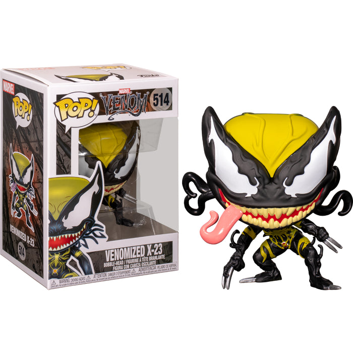 POP MARVEL VENOM - VENOMIZED X-23 #514 Vinyl Figure w/ POP Protector