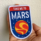 Take Me to Mars - Embroidered Patch
