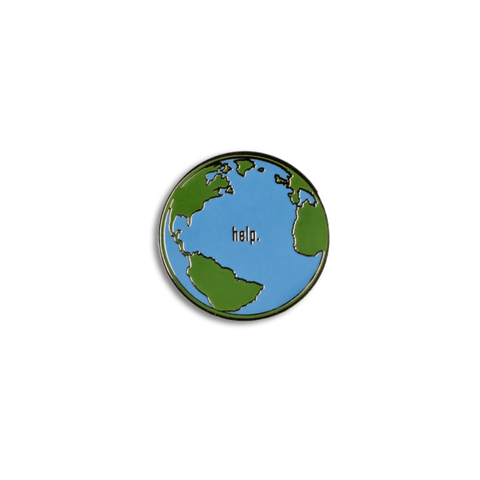 Help Earth - Lapel Pin