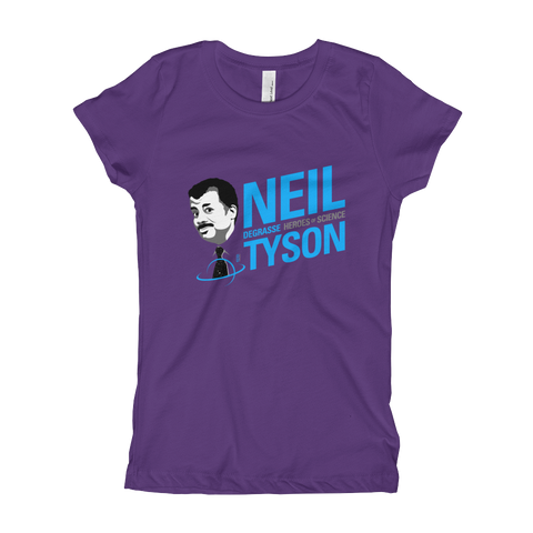 Neil deGrasse Tyson - Girl's T-Shirt