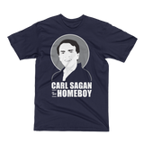 Carl Sagan is my Homeboy - Unisex Short Sleeve T-Shirt