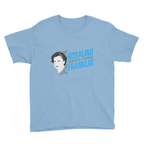 Rosalind Franklin - Heroine of Science Kid's T-Shirt