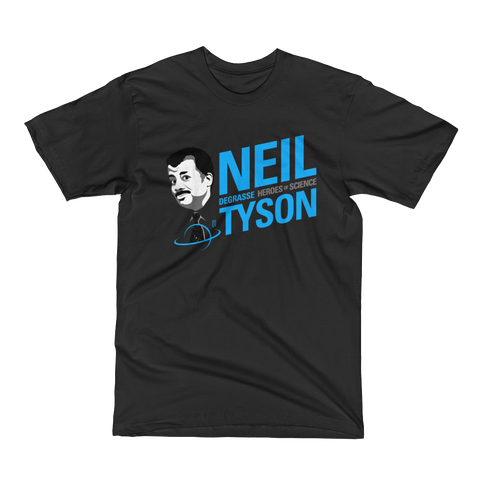 Neil deGrasse Tyson - Hero of Science T-Shirt