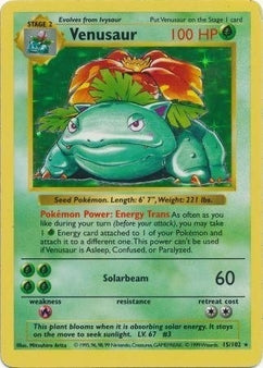 A Guide To Vintage Pokemon TCG Cards : What are your old Pokemon Cards Worth? Part 2: The Pokemon TCG 1999 Shadowless Base Set