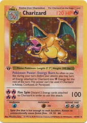Charizard 1st Edition Base Set Pokemon