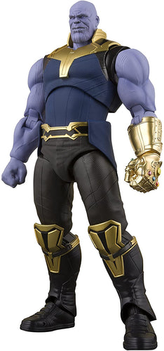 S.H. Figuarts Thanos Action Figure Avengers Infinity War Bandai Tamashii Nations