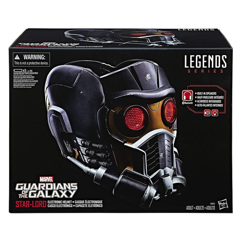 Marvel Legends Star-Lord Electronic Helmet 1:1 Scale Wearable Helmet