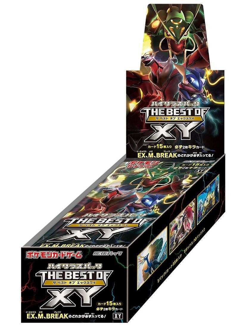 Pokemon The Best of XY Booster Box