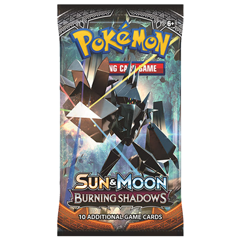 Pokemon TCG Sun & Moon Burning Shadows Booster Packs