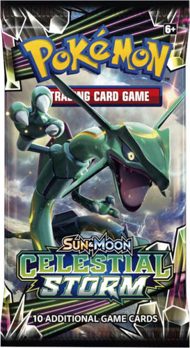 Pokemon TCG Sun & Moon Celestial Storm Booster Packs