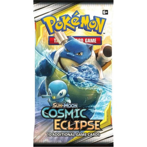 Pokemon TCG Sun & Moon Cosmic Eclipse Booster Packs