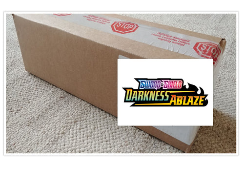 Pokemon TCG Sword & Shield Darkness Ablaze Booster Box Case of 6 Boxes Sealed SWSH3