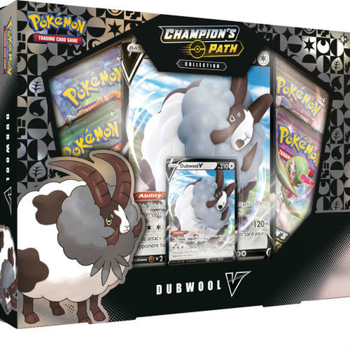 Pokemon TCG Champion's Path Dubwool V Box Collection