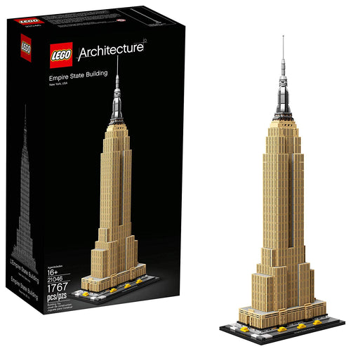 Lego Architecture Empire State Building Set New 2019 (1767 Pieces)
