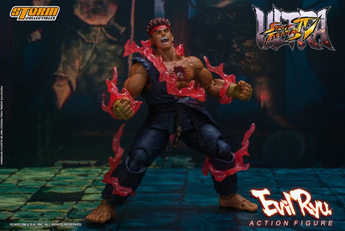 Storm Collectibles Evil Ryu Street Fighter Action Figure 1/12