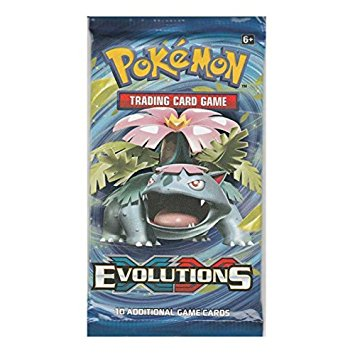 Pokemon TCG Evolutions Booster Packs