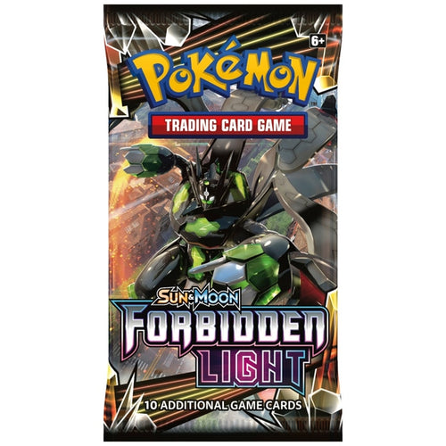 Pokemon TCG Sun & Moon Forbidden Light Booster Packs