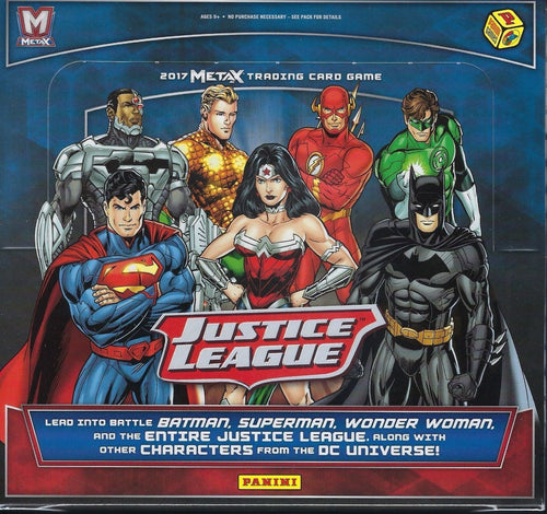 Justice League Meta X Booster Box Trading Card Game METAX