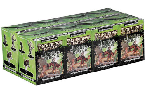 Pathfinder Battles Jungle of Despair Booster Brick 32 Painted Plastic Miniatures