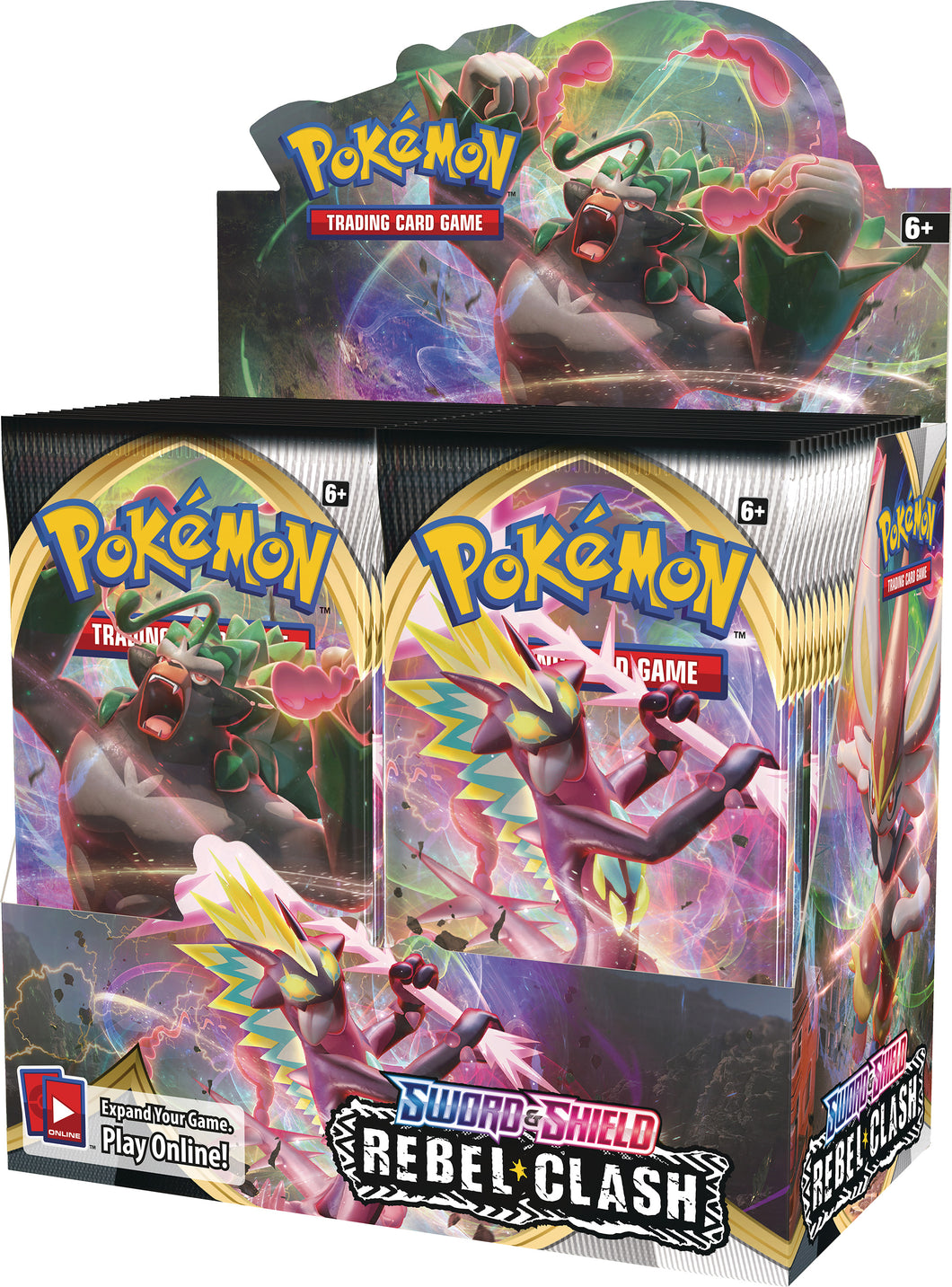 Pokemon TCG Sword & Shield Rebel Clash Booster Box SWSH2