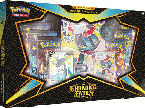 Pokemon TCG Shining Fates Shiny Dragapult VMAX Premium Collection Box