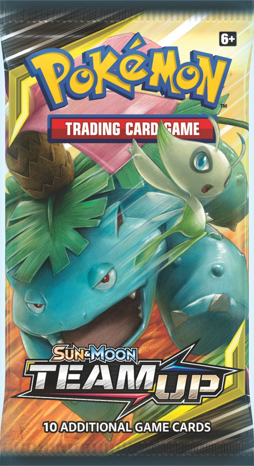 Pokemon TCG Sun & Moon Team Up Booster Packs