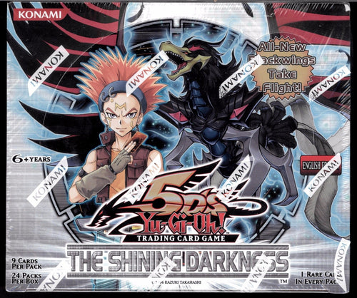 Yu-Gi-Oh The Shining Darkness Booster Box Sealed - 24 Packs the 5D's