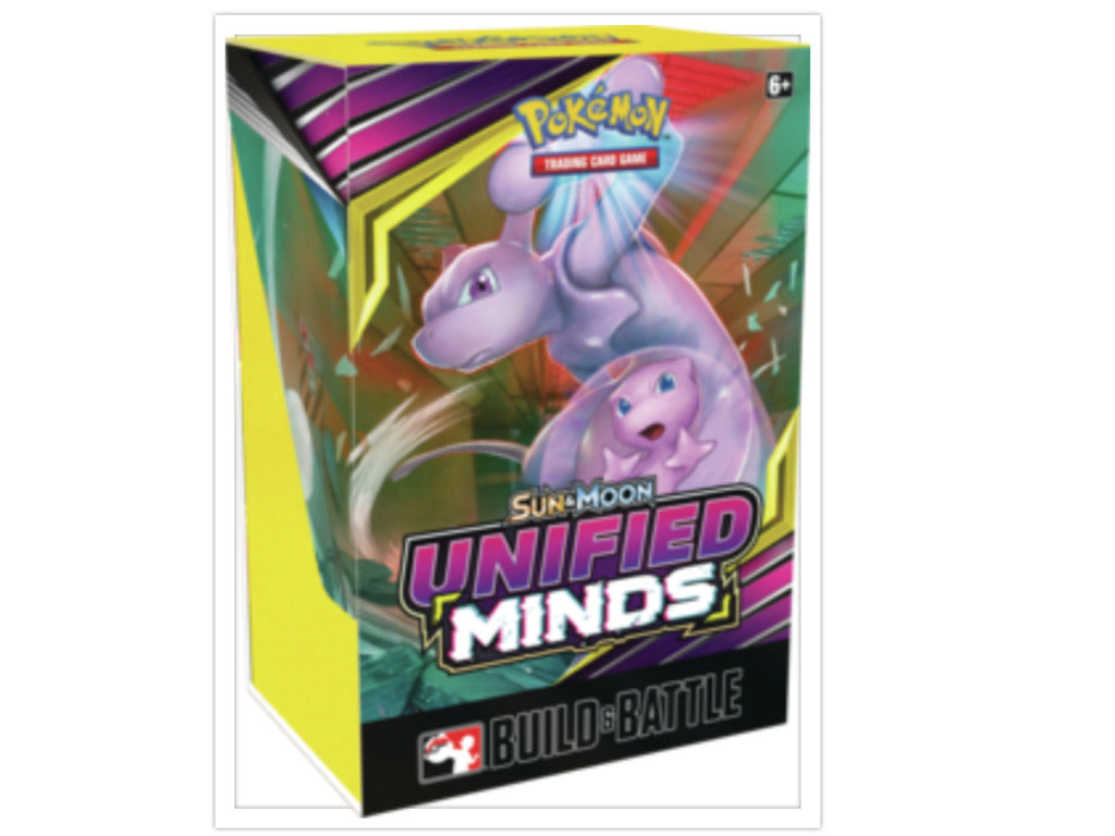 Pokemon TCG Unified Minds Build & Battle Box Prerelease Kit