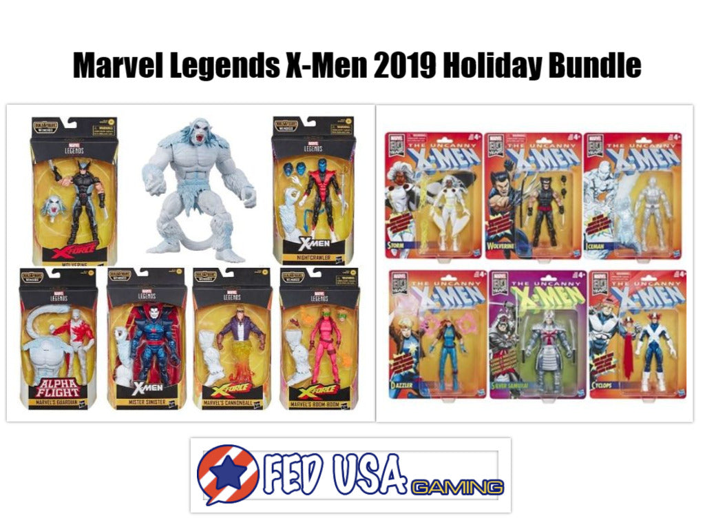 Marvel Legends X-Men 2019 Holiday Bundle