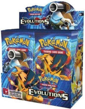 Evolutions Booster Box Pokemon TCG