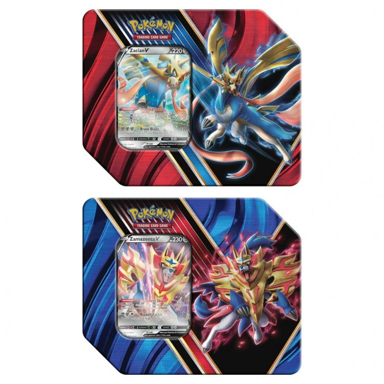 Pokemon TCG Legends of Galar Tins Set of 2