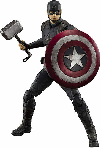 S.H. Figuarts Captain America Final Battle Action Figure Bandai Tamashii Nations