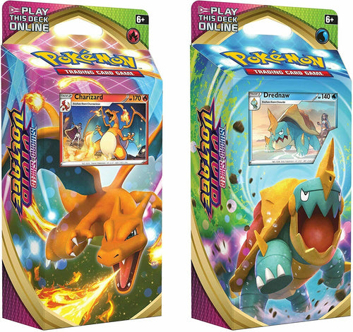 Pokemon TCG Vivid Voltage Theme Decks Charizard and Drednaw Set of 2