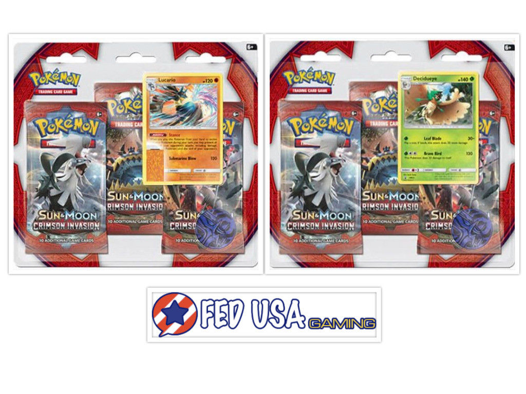 Crimson Invasion Blister Packs
