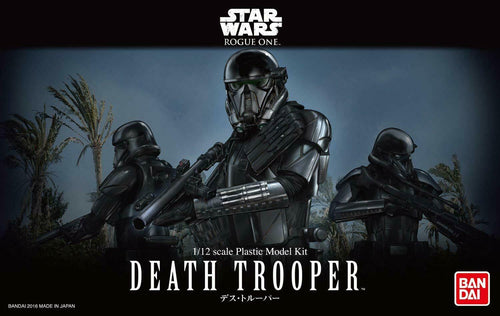 Bandai Hobby Star Wars Death Trooper 1/12 Scale Model Kit Action Figure