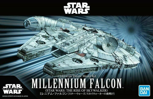 Bandai Star Wars Millenium Falcon from The Rise of Skywalker 1/144 Scale Model Kit