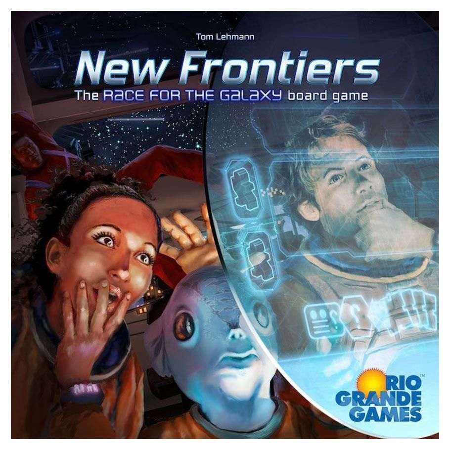 New Frontiers Board Game Multiplayer Strategy Rio Grande Games
