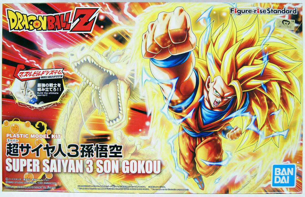 Bandai Figure-Rise Dragonball Super Saiyan 3 Son Goku Renewal Ver. Model Kit