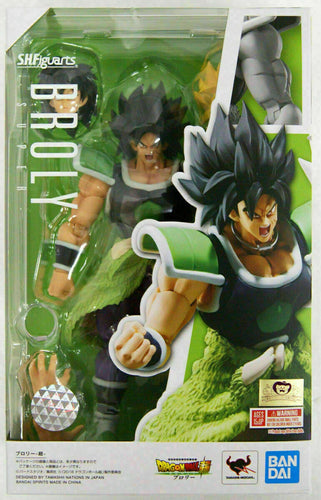S.H. Figuarts Broly Super Action Figure Dragon Ball Super Bandai Tamashii Nations