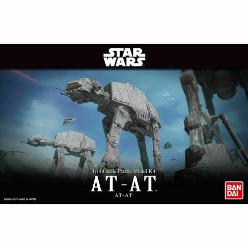 Bandai Hobby Star Wars AT-AT 1/144 Scale Model Kit Empire Strikes Back Walker