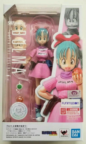 S.H. Figuarts Bulma Adventure Begins Action Figure Dragon Ball Z Super Bandai