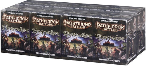 Pathfinder Battles Kingmaker Booster Brick 8ct Painted Miniatures WZK73136