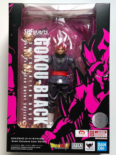 S.H. Figuarts Goku Black Super Saiyan Rose 2019 Event Exclusive Tamashii Nations