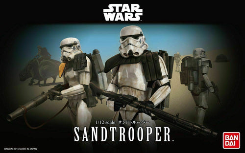 Bandai Hobby Star Wars Sandtrooper 1/12 Scale Model Kit Action Figure