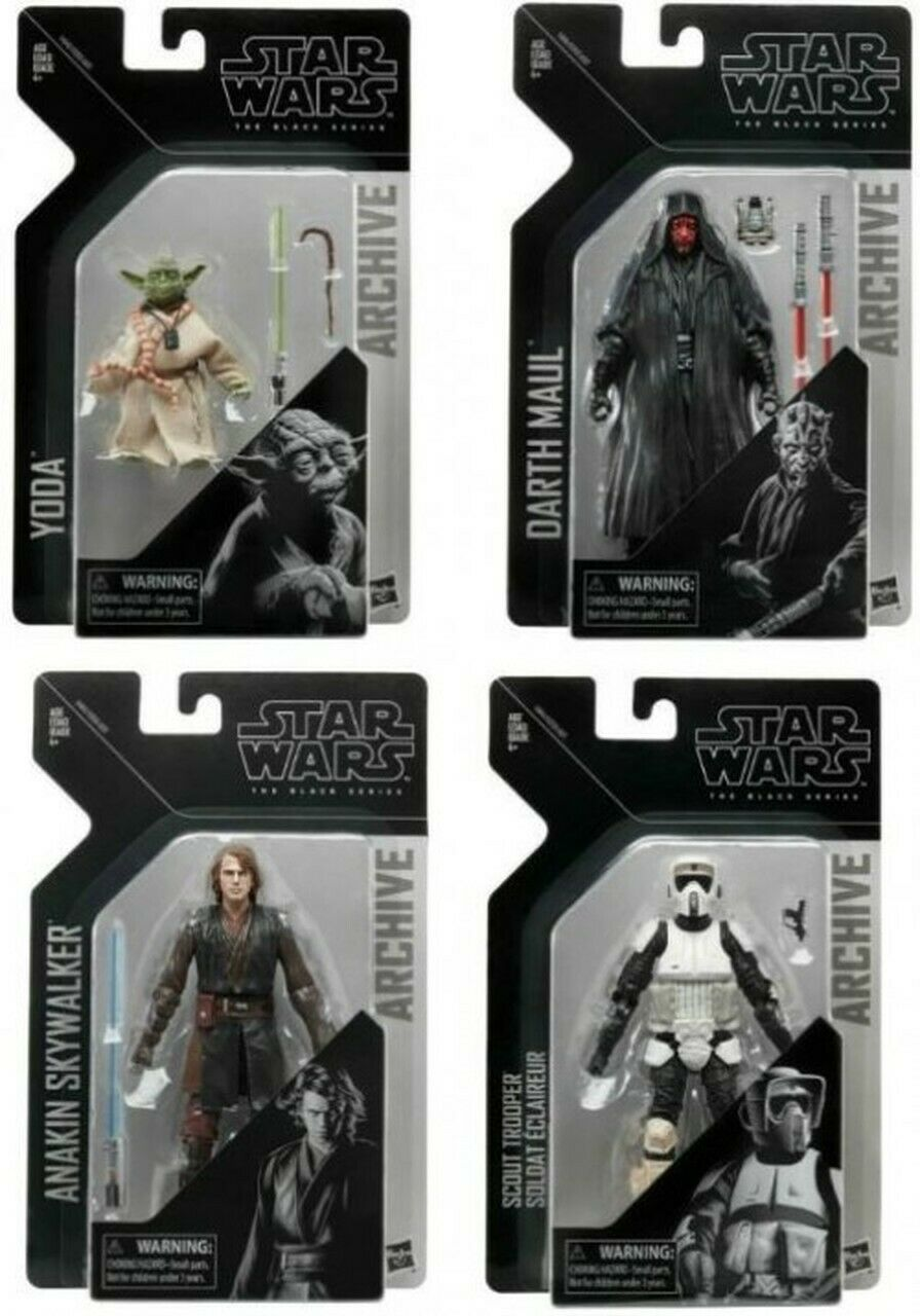 Star Wars The Black Series Archive Set of 4 Action Figures Wave 2